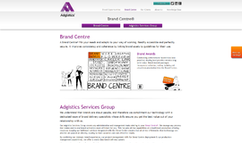 Brand Centre Digital Asset Management App
