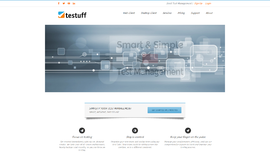 Testuff Testing and Analytics App
